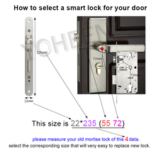 Fingerprint Door Lock for Protection with App Supporting
