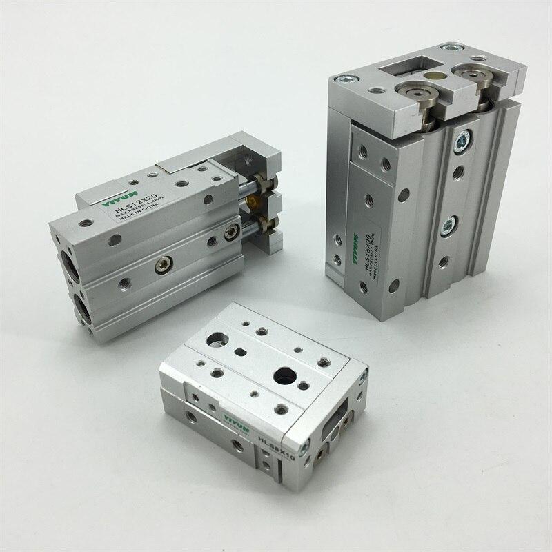 HLQ25X10A/20A/30A/40A/50A/40S/50S Sliding table Cylinder HLQ series