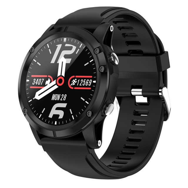 YUFENG T5 Smart Watch Man Waterproof LEMFO Heart Rate Blood Oxygen Monitor Long Standby Alloy Case For Android IOS Phone 1