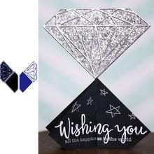 Красивый бриллиант красивая форма металлические режущие штампы