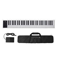 Clavier de Piano électronique numérique, 61 touches, sortie MIDI, 128 tons, 128 rythmes, 14 chansons de démonstration, enregistrement, programmation, lecture
