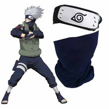 Japan Anime Cosplay Mask Gloves Headband Cosplay Costume Props Sword Weapon Armor Shuriken Throwing Darts Game Accessories Hot