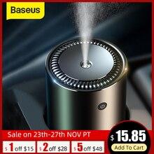 Baseus увлажнитель воздуха для автомобиля, дома, офиса, USB Ультразвуковой увлажнитель воздуха, создатель тумана, умный очиститель воздуха, металлический увлажнитель