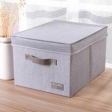 Storage Box Clothes Storage Box Waterproof Oxford Cloth Storage Box Flip Large Size Storage Box