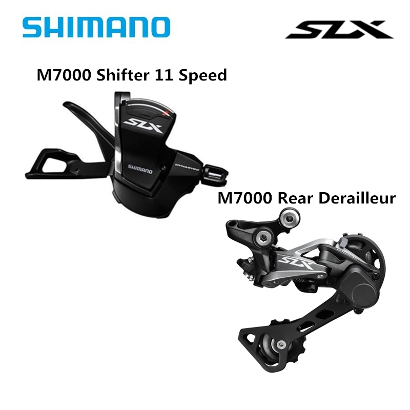 <font><b>SHIMANO</b></font> DEORE <font><b>SLX</b></font> <font><b>M7000</b></font> Mountain Bike Groupset <font><b>M7000</b></font> Shifter Lever+ <font><b>M7000</b></font> Rear Derailleur MTB <font><b>11</b></font>-Speed <font><b>M7000</b></font> Shifter image