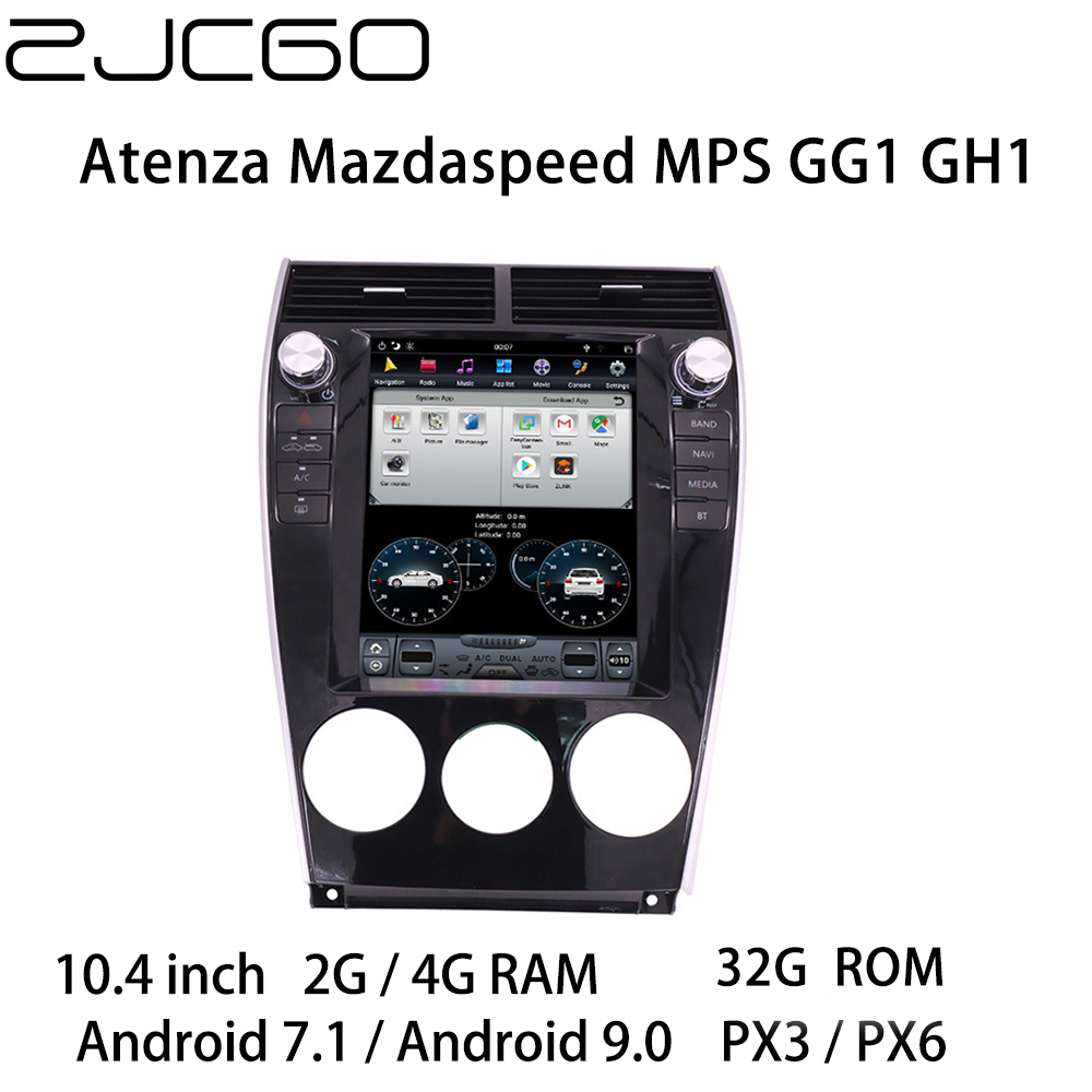 Car Multimedia Player Stereo GPS DVD Radio Navigation NAVI Android Screen for <font><b>Mazda</b></font> 6 Mazda6 Atenza Mazdaspeed <font><b>MPS</b></font> GG1 GH1 image