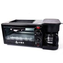 Функция три в одном машина для завтрака Бытовая кофе Sanming управление функция Лапша для чартера самолет тостер подарок