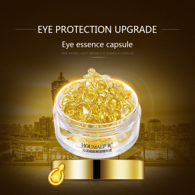 30 Capsules Delicate Eye Serum Ampoule Capsule Anti-Aging Fine Lines Firming Skin Eye Patches Nourishing Cream