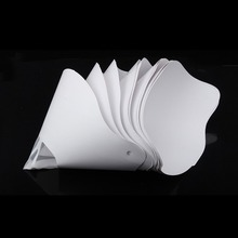 цена на 10pcs Resin thicken paper filter disposable for ANYCUBIC Photon wanhao D7 SLA UV 3D Printer parts accessories filament filter