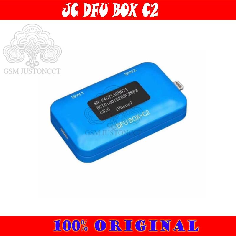 JC DFU BOX C2 Restoring Rebooting IOS Restore Reboot Instantly SN ECID MODEL Information Reading USB Current voltage Display