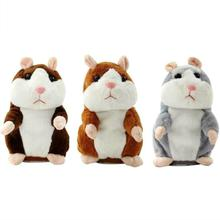 Genius Talking Electronic Hamster Pet Plush Toy Repeat What You Say Educational Talking Toys Stuffed Animals for Children цена в Москве и Питере
