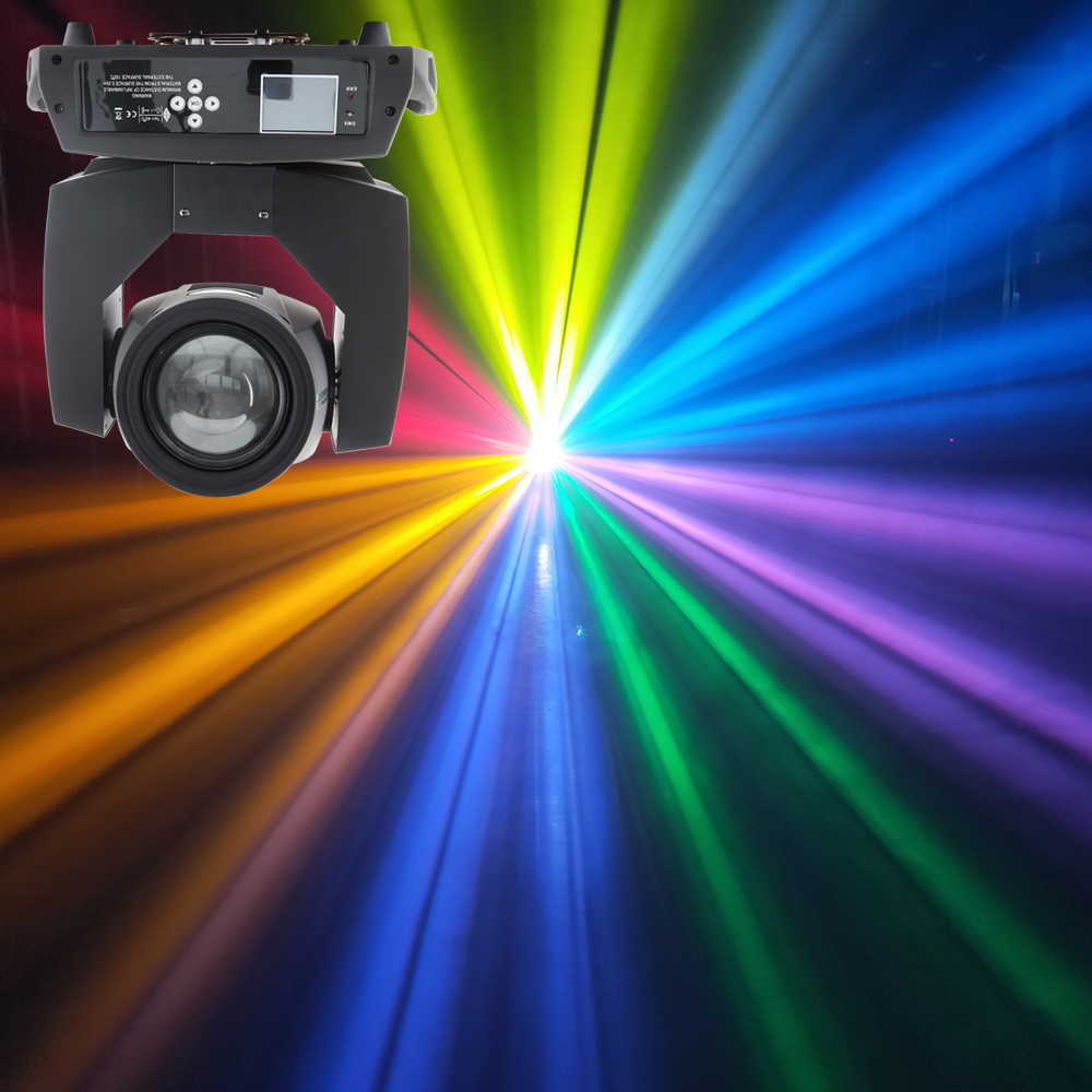 Ship From Spain High Quality Touch Screen Beam 230w 7r Sharpy Beam Moving Head With 2 Prisms Colorful Rainbow Effect Powercon