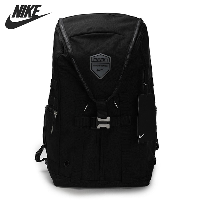 Original New Arrival  NIKE LBJ NK BKPK-VNR Unisex  Backpacks Sports Bags