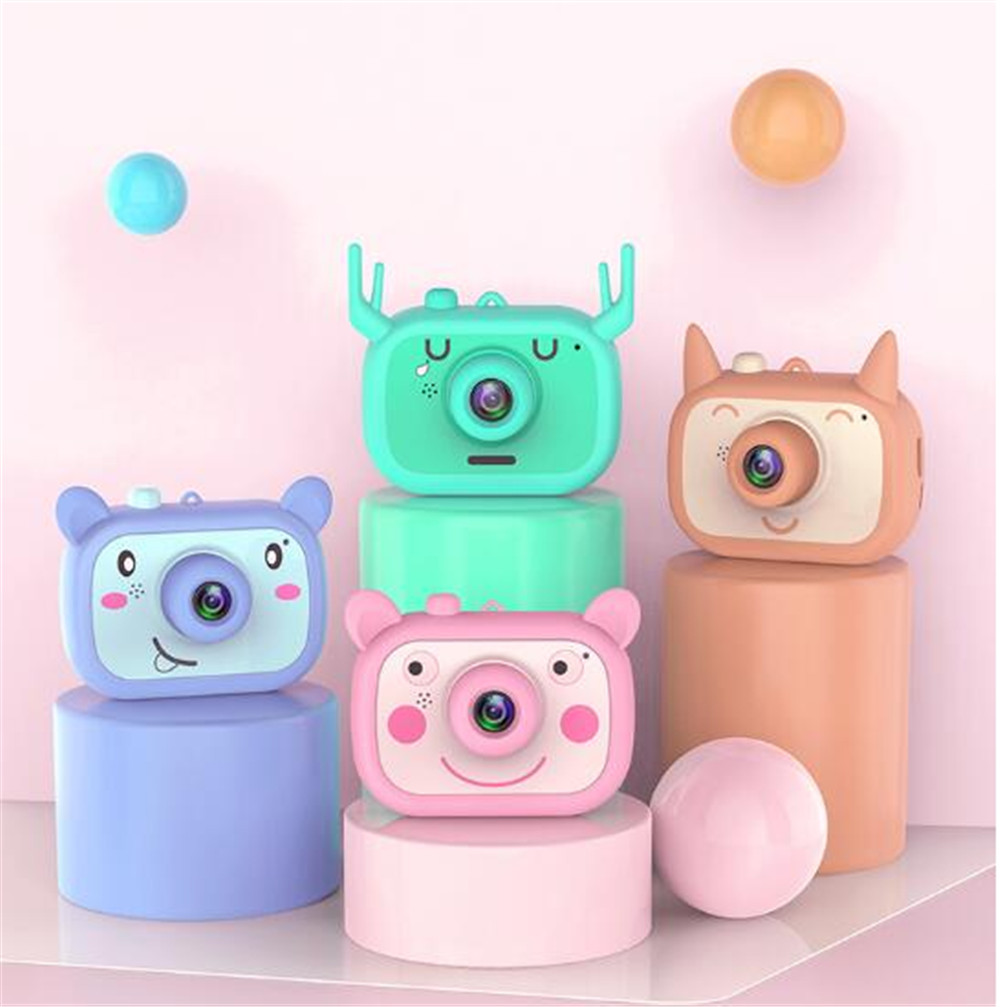 2.0 Inch 16MP 1080P WIFI Kids Camera Face Recognition Auto Phone Children Camera|Consumer Camcorders| |  - title=