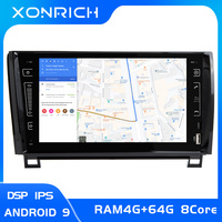 Xonrich IPS DSP 2 Din Android 9.0 Car Multimedia Player For Toyota Tundra Sequoia 2007 2008 2009 2010 20112012 2013 Stereo radio