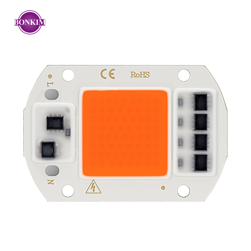Grow Light LED Chips Full Spectrum AC 220V Direct Connect Smart IC Stable Resistance Suitable For Indoor Lighting DIY Flood Lamp