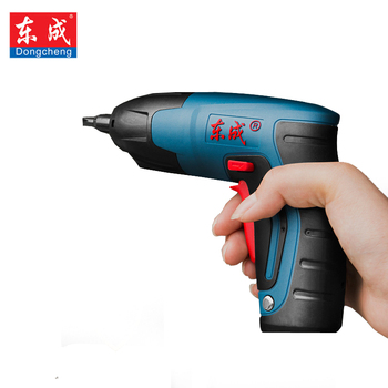 цена на 4V 1.5Ah Cordless Electric Multi-function Screwdriver Household Rechargeable Battery with Work Light Power Tools