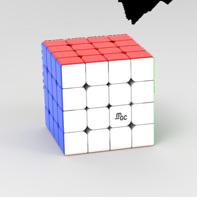 Newes YJ MGC 4x4 Magnetic Cubing Speed YJ MGC 4 M 4M mgc4 M 4x4x4 Puzzle Yongjun Magico Cubo Educational Toys for Children 4