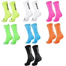 2018 Cycling Socks Top Quality Professional Brand Sport Socks Breathable Bicycle Sock Outdoor Racing Big Size Men Women