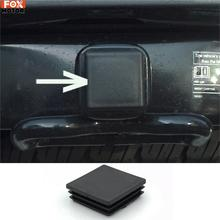 1Pc 2 Inch Auto Trailer Hitch Cover Plug Caps Rubber For Toyota RAV4 Tundra Tacoma Highlander Land Cruiser 4Runner Accessories