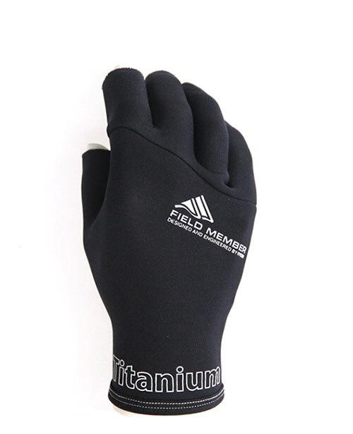 RYOBI Winter Gloves Fishing Waterproof Fishing Gloves Dew Three Fingers  Outdoor Sports Gloves Warm Fishing Gloves