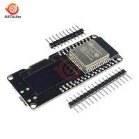 0.96'' 0.96 Inch OLED Display CP2102 ESP32 ESP-32 ESP-WROOM-32 WiFi Bluetooth Development Board Module for Wemos D1 2.4GHz