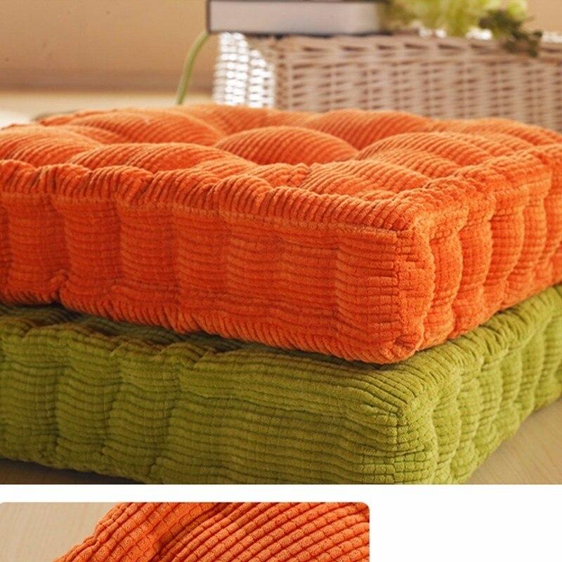 Corncob Tatami siège chaise de bureau canapé tissu coussins d'extérieur décor à la maison Textile genou oreiller Coussin Almofada Decorativa
