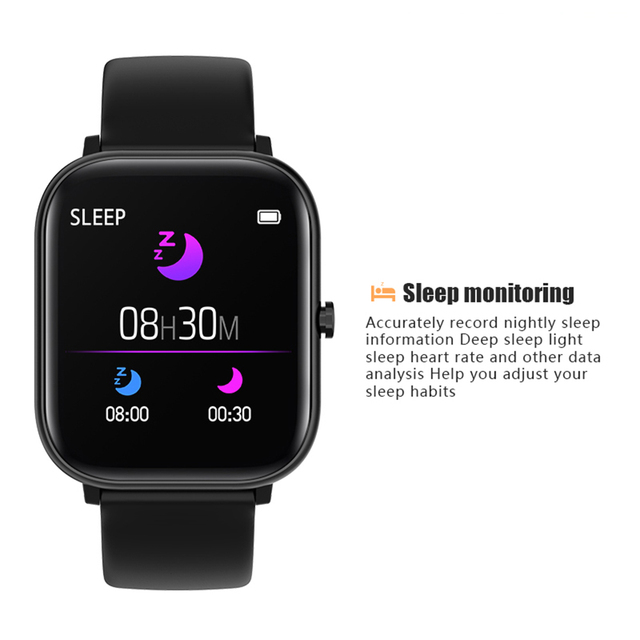 2020 NEWEST Smart Bracelet Heart Rate Monitor Waterproof Sports Smart Watch Support Android IOS 2