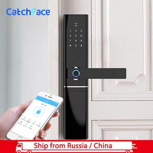 Fingerprint Lock Biometric Wifi Digital Password Bluetooth Electronic Keyless APP
