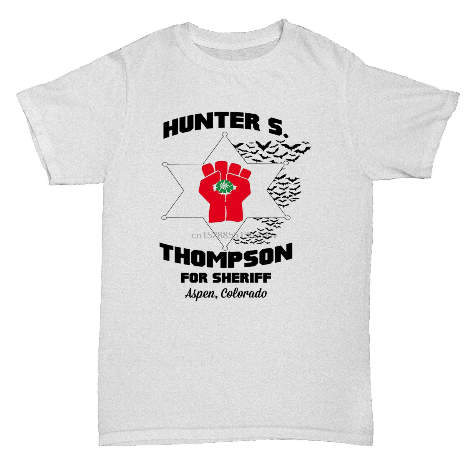 HUNTER S THOMPSON FEAR AND LOATHING TUMBLR CULT FILM MOVIE RETRO T Shirt