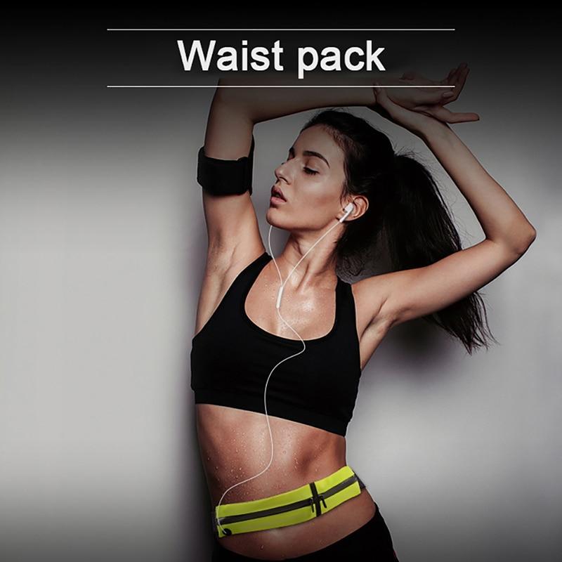 Waterproof Trail Running Waist Bag Jogging Gym Fitness Cycling Anti-thft Pack Belt Ourdoor Sport Accessories