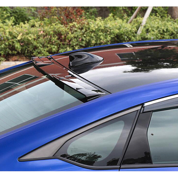 1 Pcs Voor Honda Accord 10th 2018 Abs Rear Window Visor Dak Spoiler Wings Auto Deel Zwarte Kleur Auto Accessroies