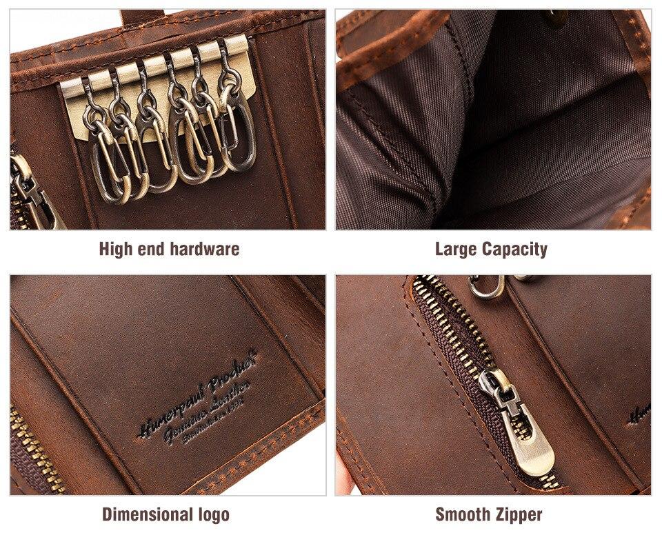 chave carteiras de alta qualidade grande capacidade