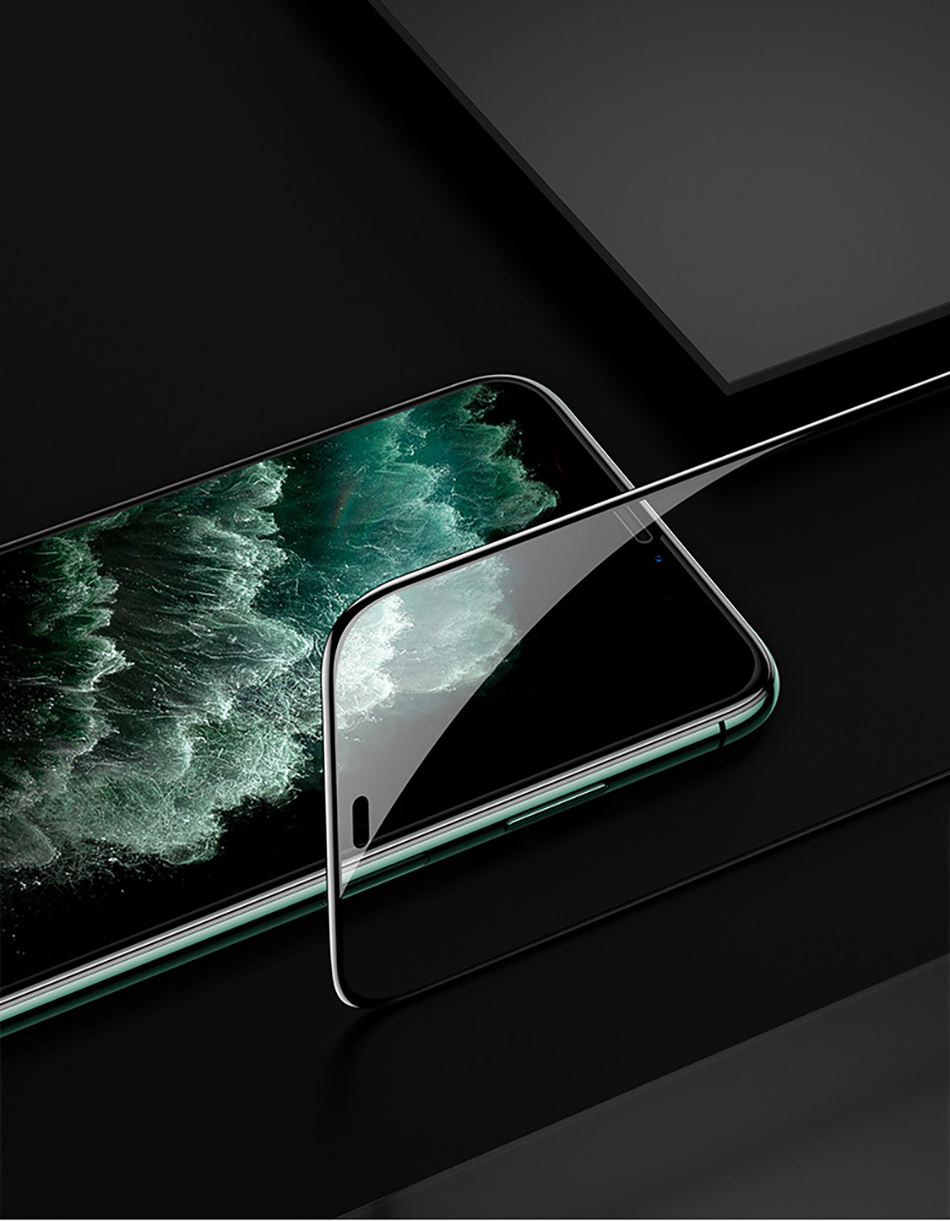 Benks XPRO 3D Curved Edge Screen protector Glass 0.3mm For iPhone 11 Pro MAX XR X XS Full Cover Protective Tempered Glass Film (17)