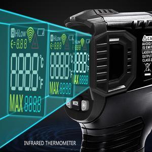 Image 2 - ET6531B C Infrarood Digitale Contactloze Temperatuur Meten Gun Infrarood Thermometer Pyrometer Laser Thermometer 50 600C