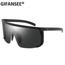 GIFANSEE Mask Shape Shield Sport Sunglasses men one piece 20