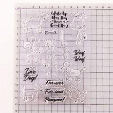 Transparent Stamp Sheep Shepherd New 2020 Clear Stamps Rubber Silicone Seal for DIY Scrapbooking Card Making Album Decor Crafts cute christmas socks transparent seal seal diy scrapbook album decoration card making transparent seal seamless seal