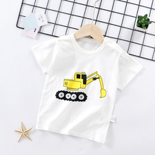 Clothes Baby T-shirt Kids Short Sleeve T Shirt Girls Top Boy Clothing Cotton Girl Summer Flash Sales