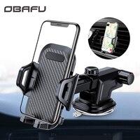OBAFU Auto Telefon Halterung Dashboard Windschutzscheibe Air Vent Handy-Halter für Auto mit Vent Clip Für Telefon In Die auto Saugnapf