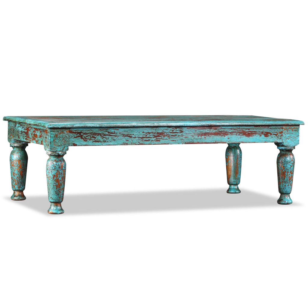 VidaXL Coffee Table Solid Reclaimed Wood 110x60x34 Cm