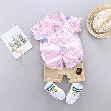Комплекты летней одежды для новорожденных мальчиков; новые спортивные костюмы для малышей; модная праздничная одежда для малышей; хлопковые костюмы с героями мультфильмов для маленьких мальчиков
