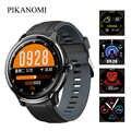 SN80 لمس كاملة ساعة bluetooth ذكية للماء الرياضة ساعة معصم القلب معدل مراقبة ضغط الدم جهاز تعقب للياقة البدنية ساعة بـ GPS