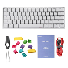 Mechanical Keyboard Anne Pro2 Tablet Silver-Switch-Gamer Brown Bluetooth-Gaming Cherry Red