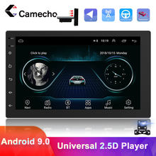 Camecho 1 Din Android Car Radio GPS Navigation Multimedia Video Player GPS Autoradio For VW Volkswagen Toyota Nissan Polo Ford(China)