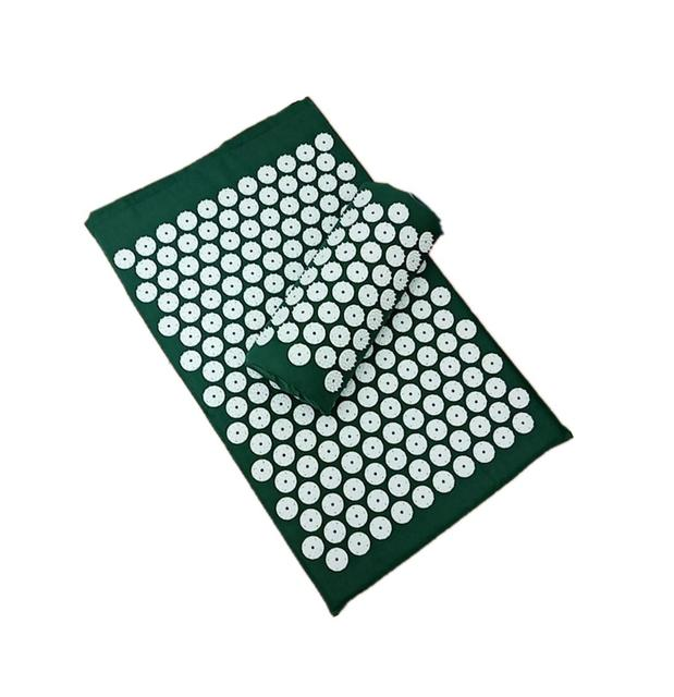 Massager Cushion(62*38cm) Acupuncture Sets Acupressure Mat with Pillow Massage Mat  Massage and Relaxation