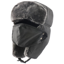Winter Hat Masks Bomber-Hats Pilot Women New-Fashion with Windproof Hood Ear-Protection
