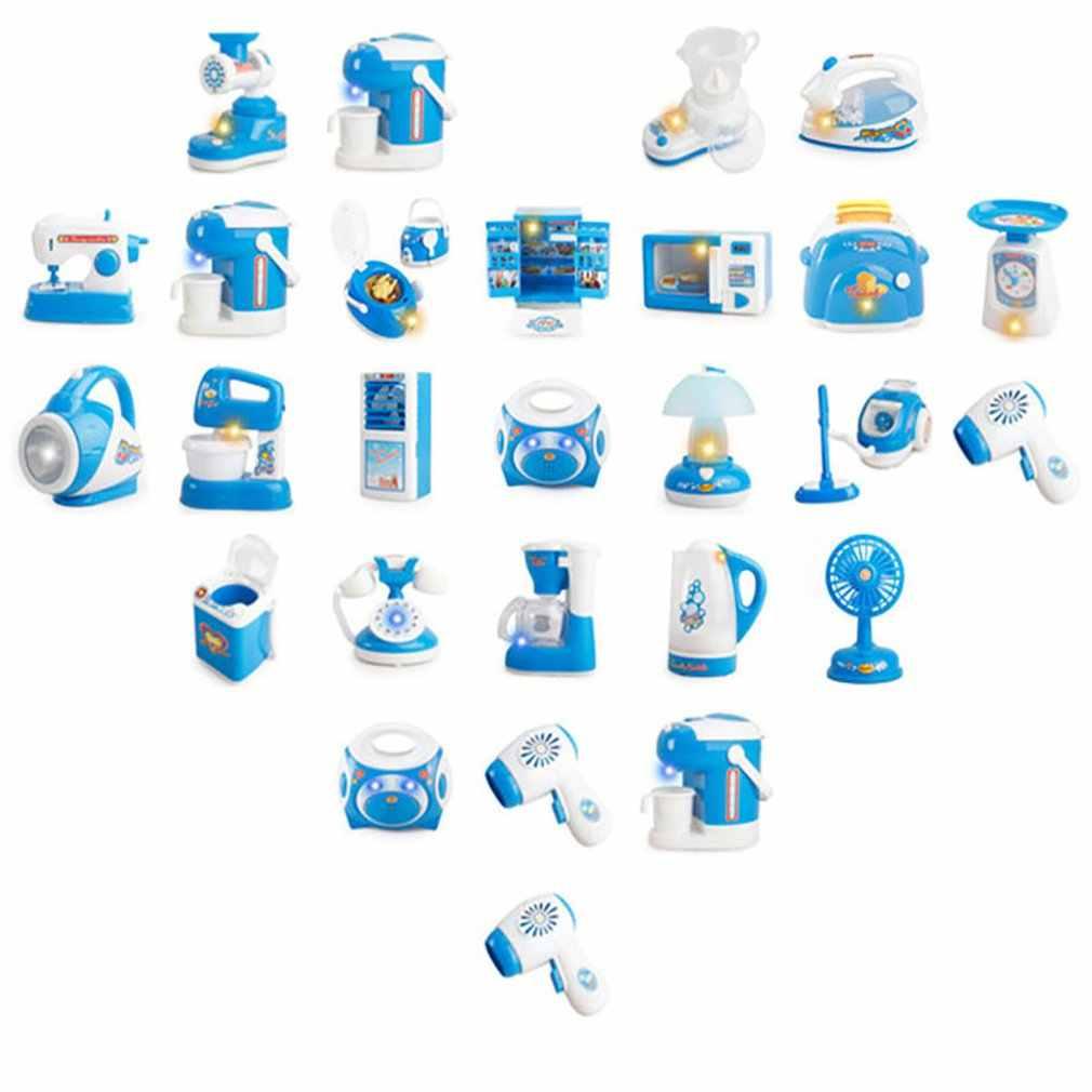 Micro-ondas máquina de lavar geladeira, equipamentos para crianças, jogos de cozinha, eletrodomésticos, brinquedos para meninos e meninas