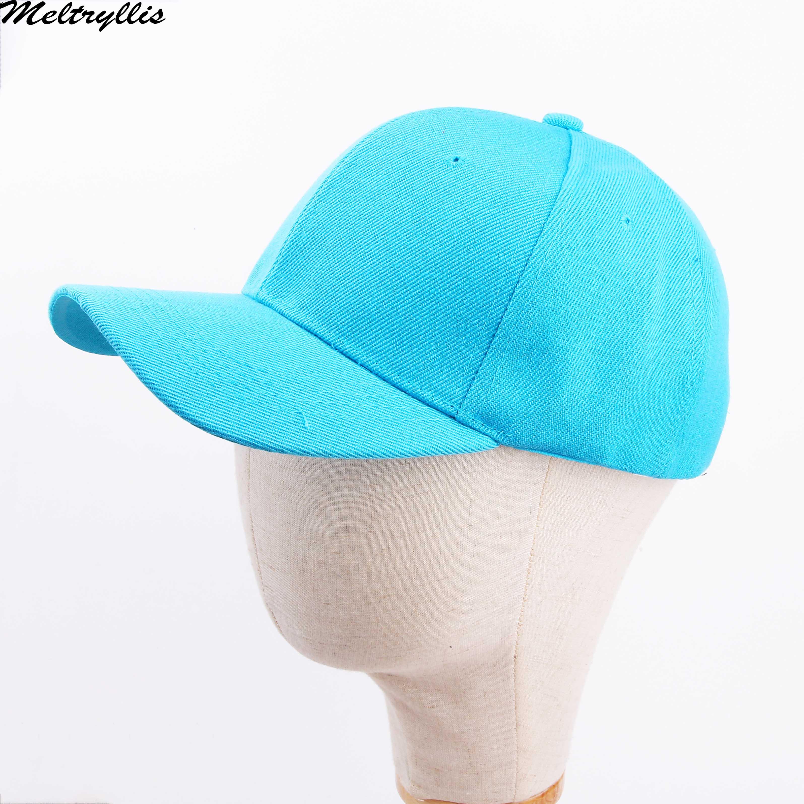 [Meltryllis] granatowy lato czapka z daszkiem bawełna wysokiej jakości regulowane niebieskie przedmioty czapki tata kapelusz odkryty czapki dla mężczyzn kobiet