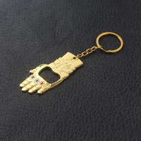 Thanos Infinity Gauntlet Bottle Opener Keychain 6