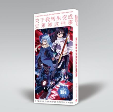 That Time I Got Reincarnated As A Slime Rimuru Tempest Postcard Post Cards LOMO Card Sticker Artbook Gift Book Set Kids Toys